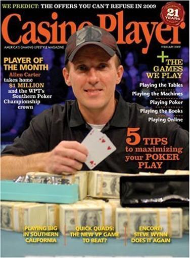 casino player magazine discount