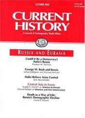 Current History Magazine Subscription