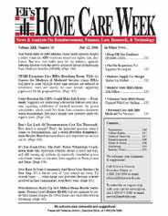 Home Care Week Magazine Subscription