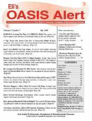 Oasis Alert Magazine Subscription