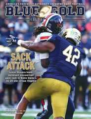 Blue & Gold Illustrated Magazine Subscription