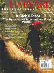 Harvard International Review Magazine Subscription
