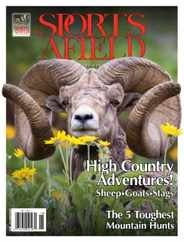 Sports Afield Magazine Subscription July 1st, 2017 Issue