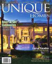 Unique Homes Magazine Subscription February 1st, 2016 Issue