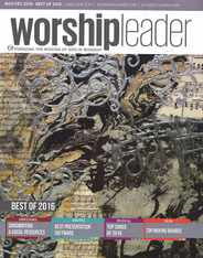Worship Leader Magazine Subscription