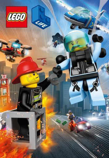 LEGO Life Cover