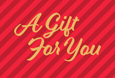 A Gift For You Postcard Cover