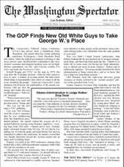 Washington Spectator Magazine Subscription